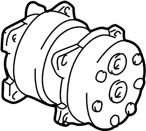 Volkswagen EuroVan A/c compressor. Repair, make