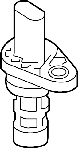 Volkswagen Tiguan Engine Crankshaft Position Sensor. LITER