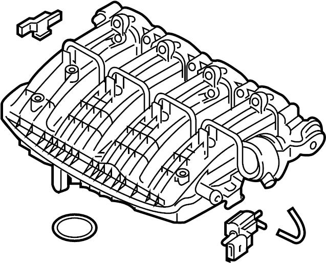 Volkswagen Jetta GLI Engine Intake Manifold. LITER, VIN