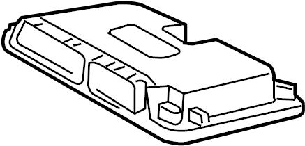 Volkswagen Jetta Engine Control Module. Trans, Manual