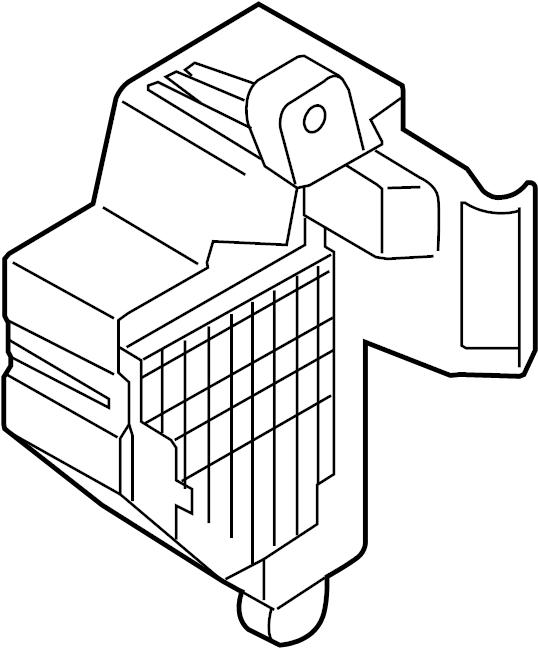 Volkswagen GTI Fuse Box. COMPARTMENT, PASSENGER, WAGON