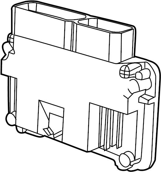 Volkswagen Jetta Engine Control Module. Auto, Trans, LITER
