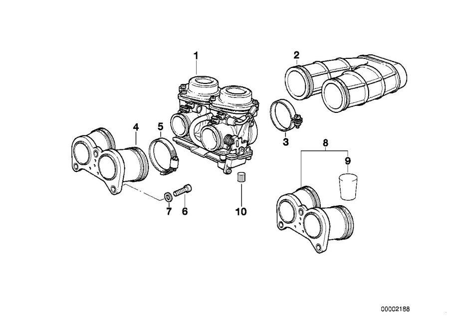 1997 BMW F650 Carburetor. SLSpimg, FLOAT, Carburettor