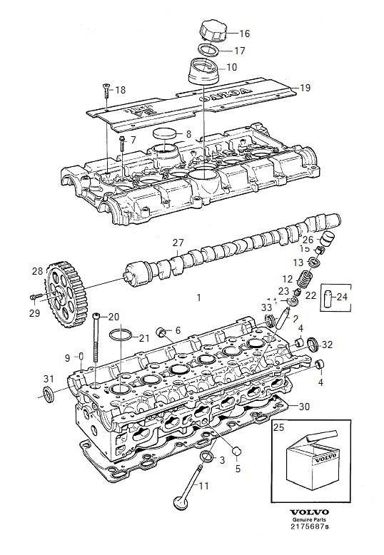 1998 Volvo V90 Engine Diagram : Volvo 960, s90, v90 1998