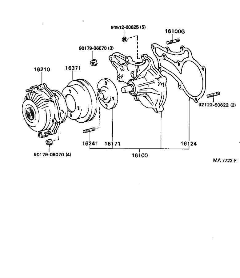 Toyota 4Runner Towing Options, Fan Fluid Coupling. Towing
