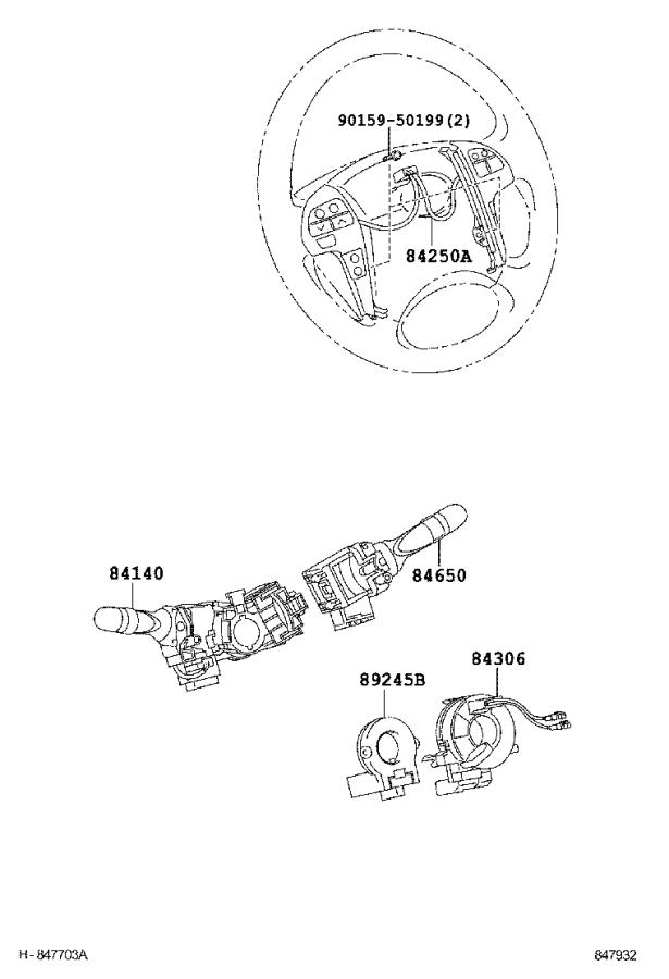 Toyota Camry Block assembly, instrument panel junction