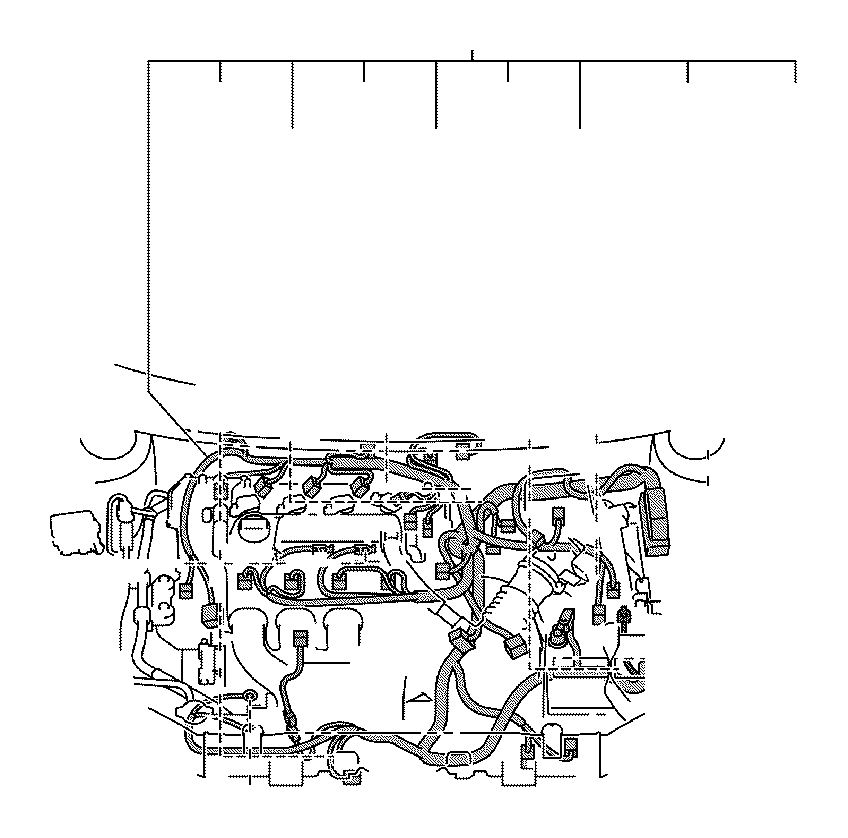 Toyota Matrix Protector, wiring harness, no. 4. Engine