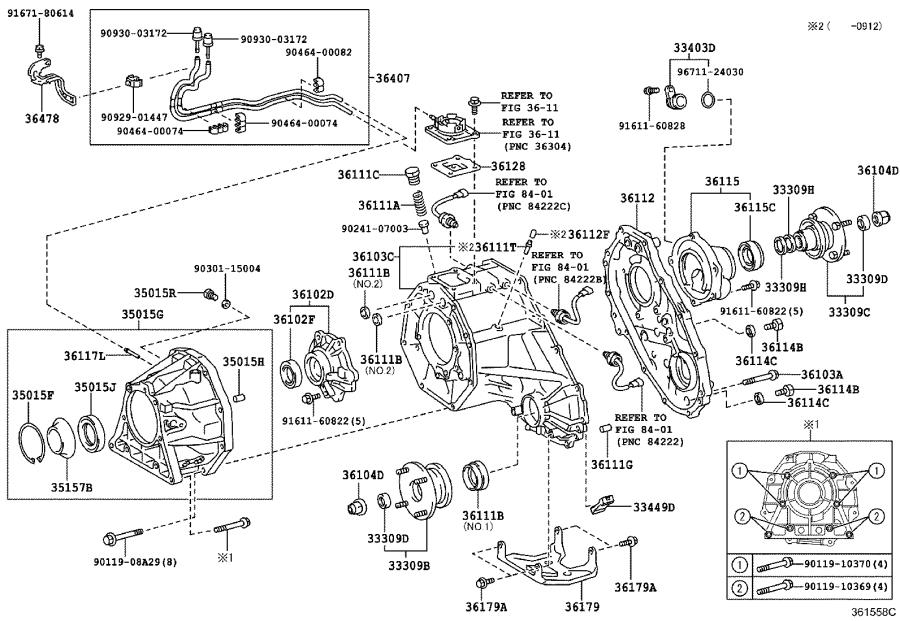 Toyota 4Runner Hose sub-assembly, transfer breather