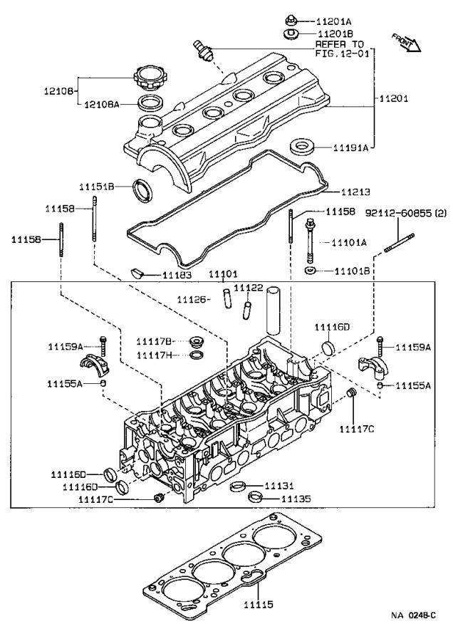 Toyota Corolla Engine Valve Cover Grommet. Washer, Seal