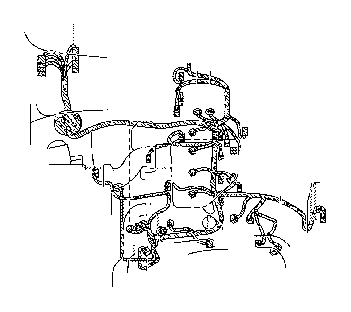 Toyota Tacoma Wire, engine. Clamp, roof, panel