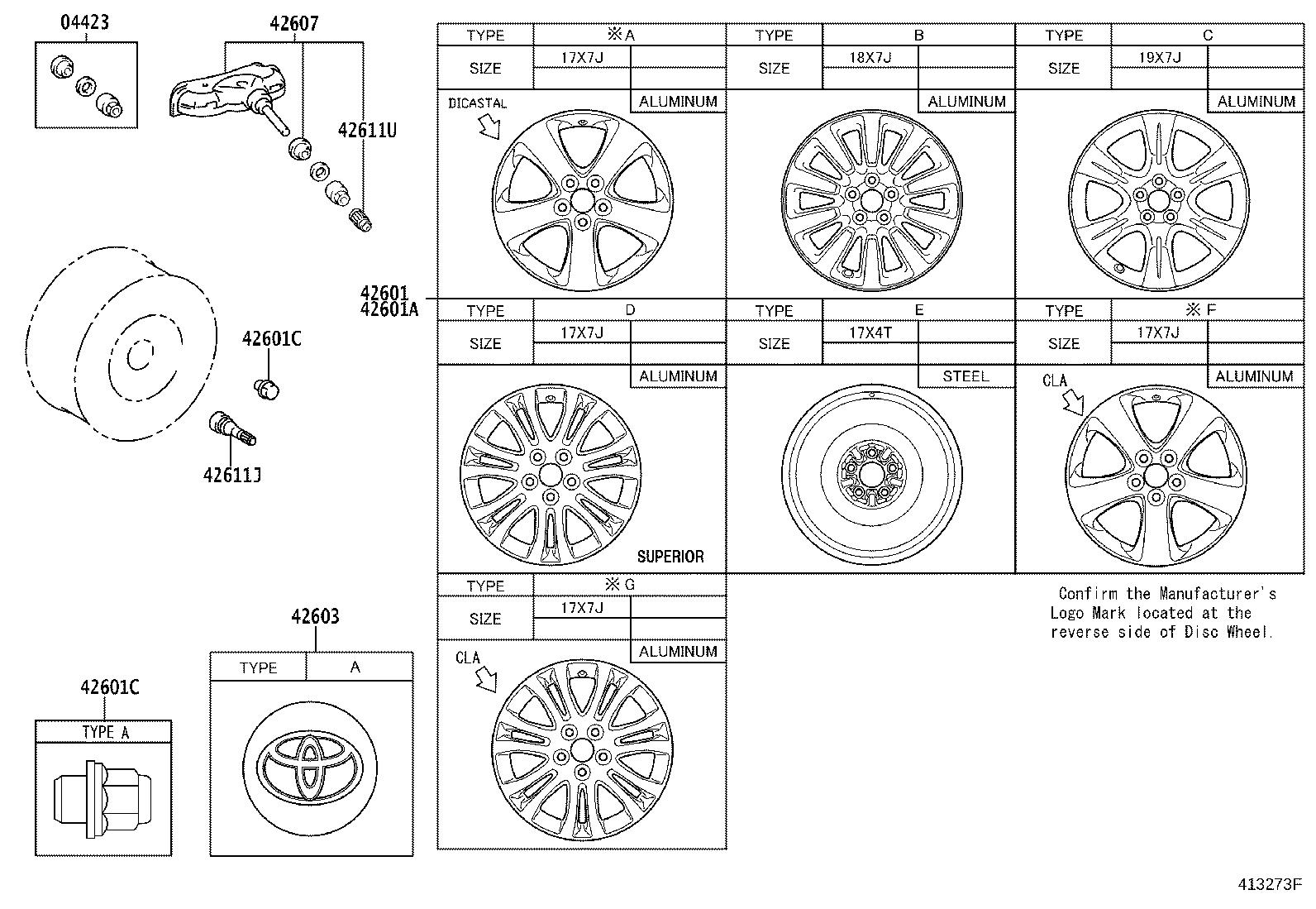 Toyota Sienna Wheel May Rim Brakes