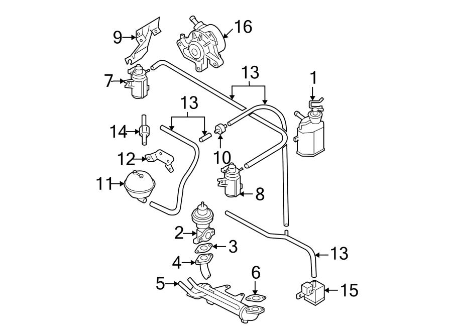 Volkswagen Beetle Egr valve. Egr valve. Liter, diesel