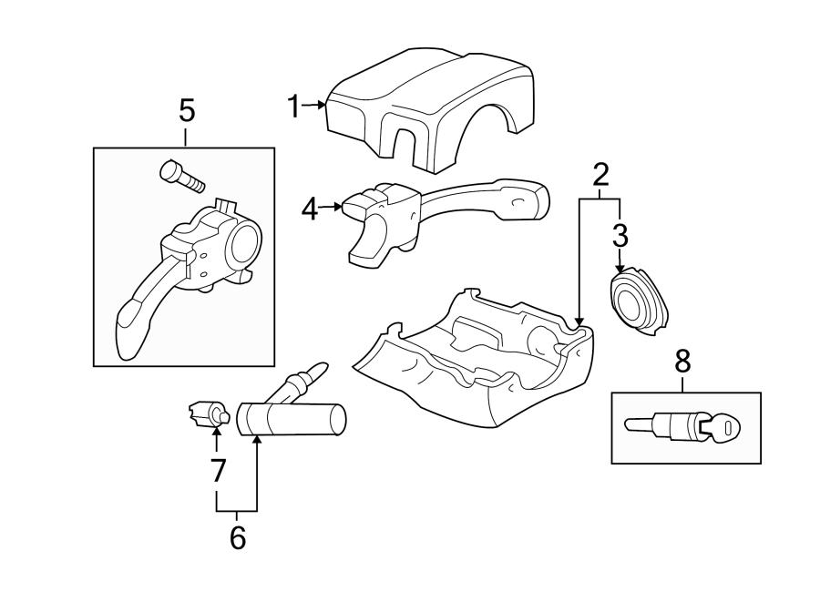 Volkswagen Beetle Convertible Steering Column Cover (Lower