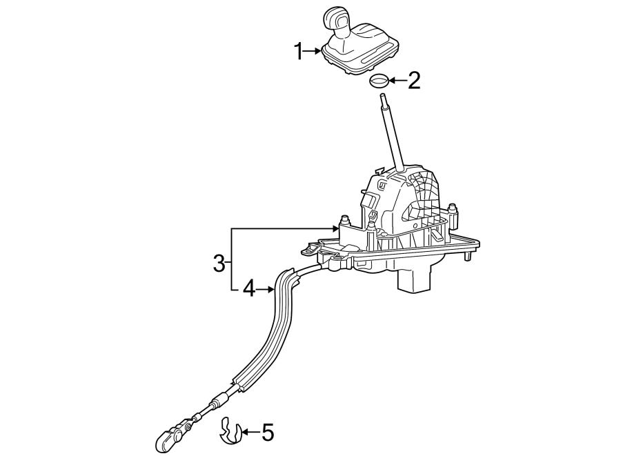 Volkswagen Touareg Automatic Transmission Shift Lever Knob