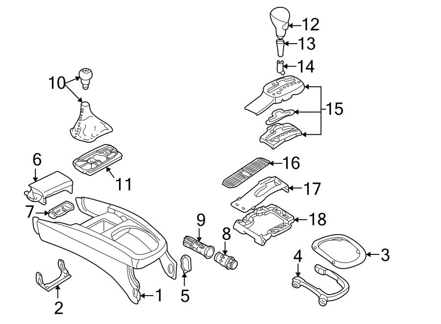 Volkswagen Passat Manual Transmission Shift Linkage Boot