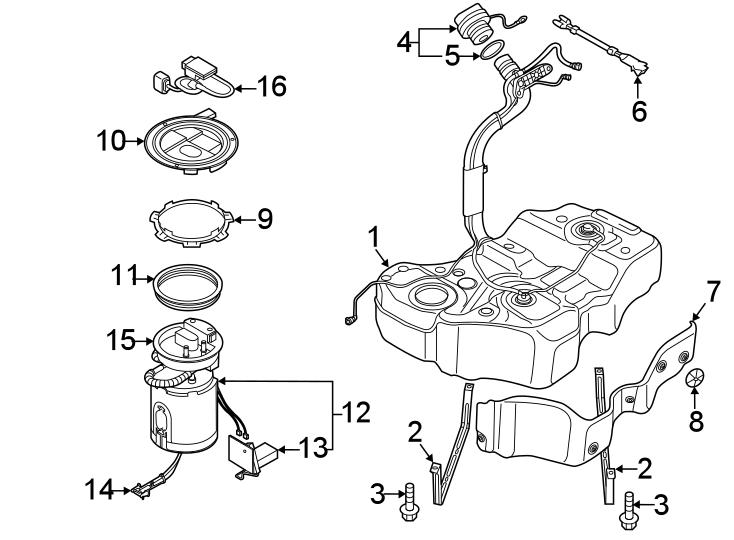 Volkswagen Passat Fuel Injection Pressure Regulator