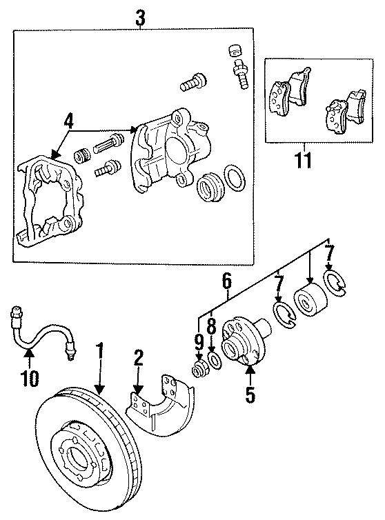 Volkswagen Jetta Wheel Hub (Front). Hub. And Amplifier