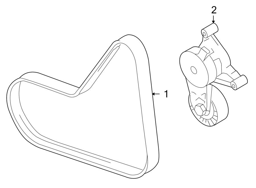 Volkswagen Jetta Serpentine Belt. AWD, Drive, GAS