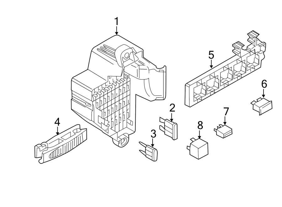 Volkswagen SportWagen Relay Box. PASSENGER, Compartment