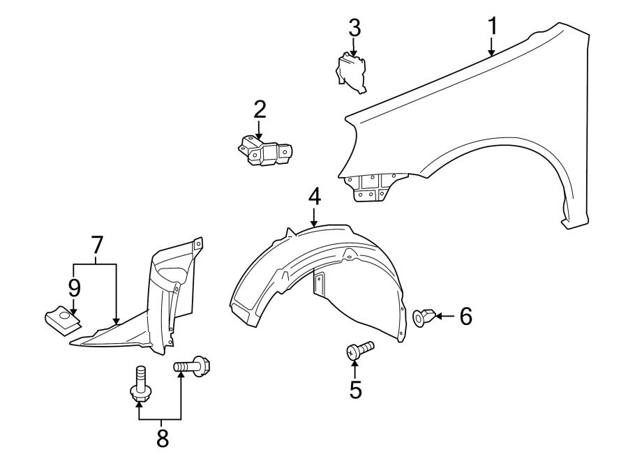 Volkswagen Rabbit Fender Splash Shield (Front, Rear, Lower