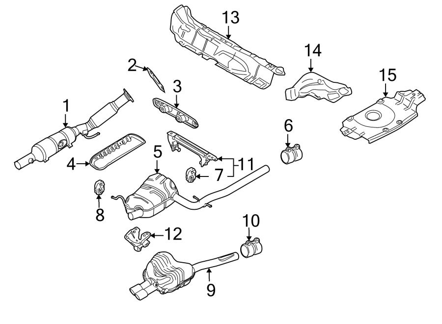Volkswagen Rabbit Exhaust System Hanger (Front, Upper