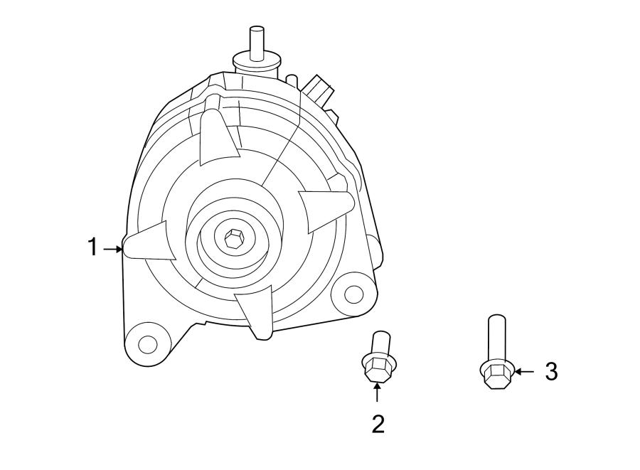 Volkswagen Routan Alternator. Battery, LITER, Replaced
