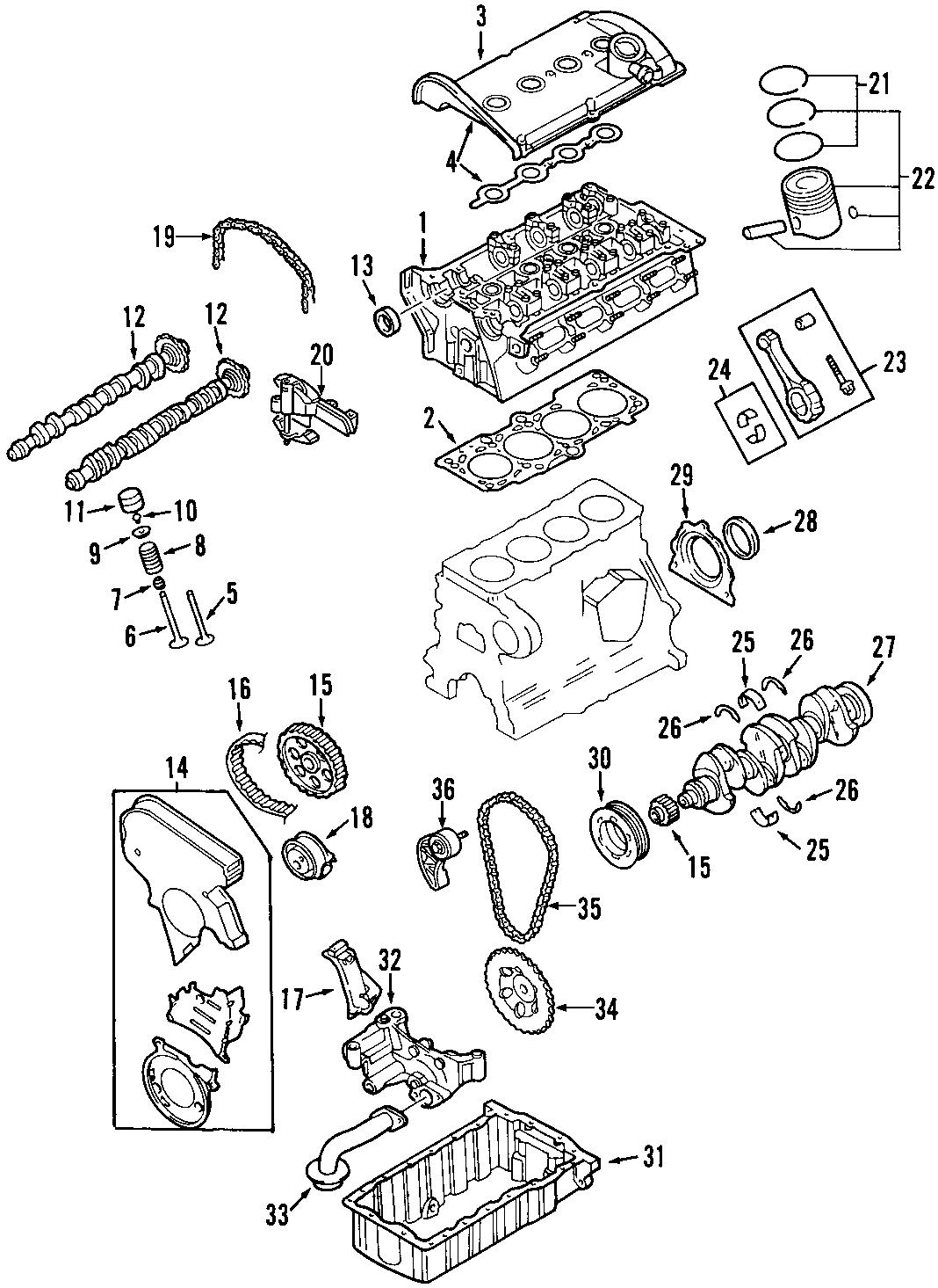 Volkswagen Beetle Engine Piston. RINGS, Pin, Incl
