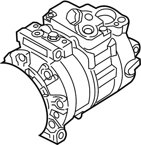 Volkswagen Golf A/c compressor. Repair, heater, lines