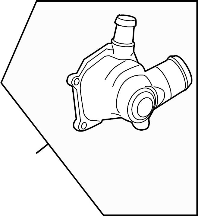 Volkswagen Touareg Engine Coolant Thermostat Kit
