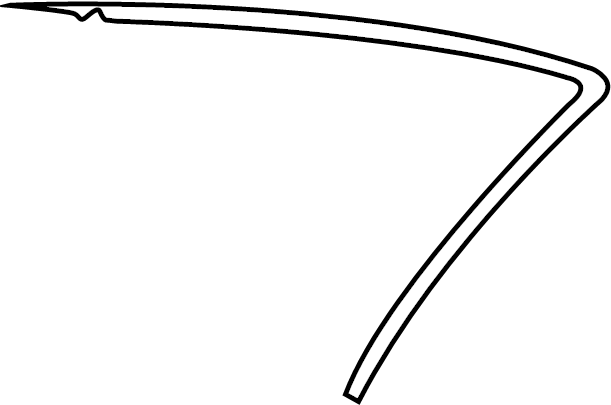Volkswagen Beetle Seal. Weatherstrip. Convertible