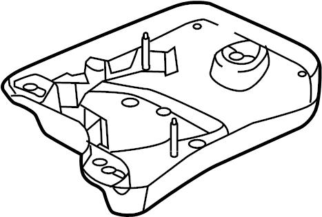 Volkswagen Beetle Cover disc. Tank shield. 2015, emission