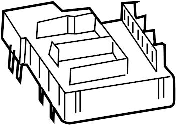 Volkswagen Touareg Fuse Box. Fuse Holder. ENGINE