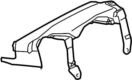 Volkswagen Touareg Steering Column Cover (Upper