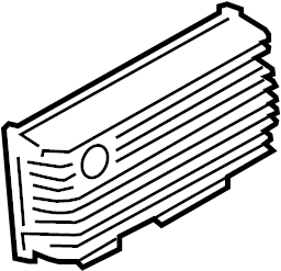 Volkswagen Touareg Radio Amplifier. Booster. Radio