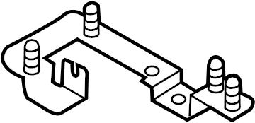 Volkswagen Touareg Fuse Box Connector. PASSENGER