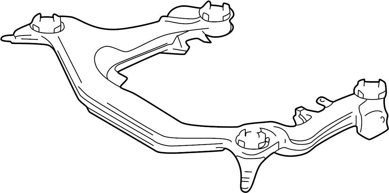 Volkswagen Passat Engine cradle. SUB FRAME. Manual trans