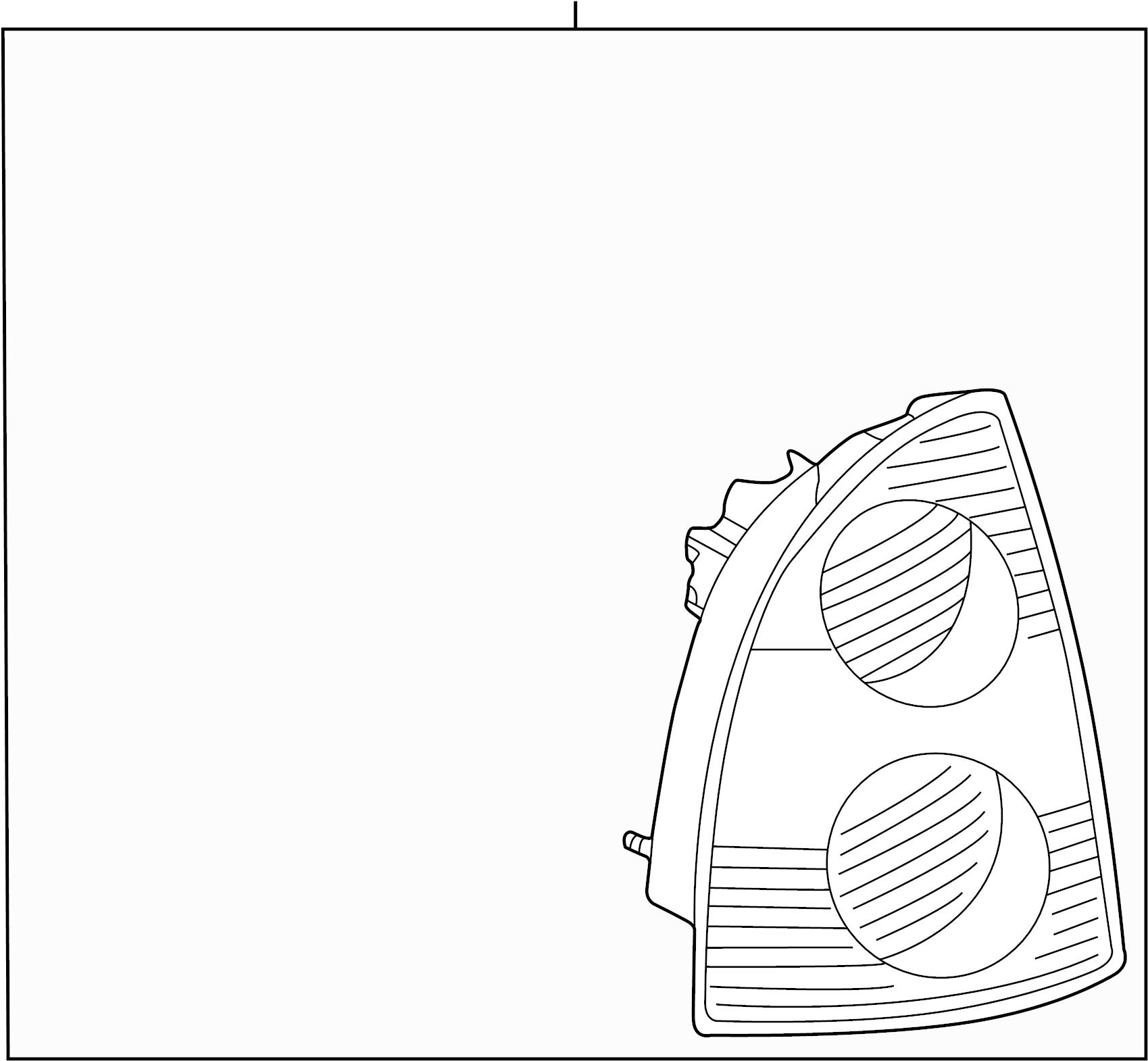 Volkswagen Passat Wagon Tail lamp ASSEMBLY. TAILLIGHT