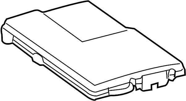 Volkswagen CC Battery Cover. Amp, Upper, WAGON
