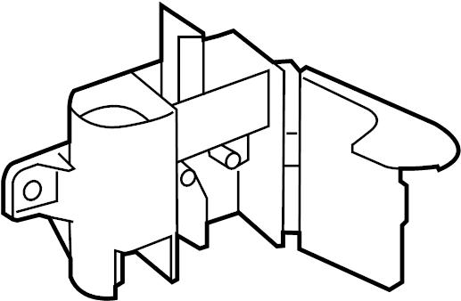 Volkswagen Passat Junction Block. ENGINE COMPARTMENT