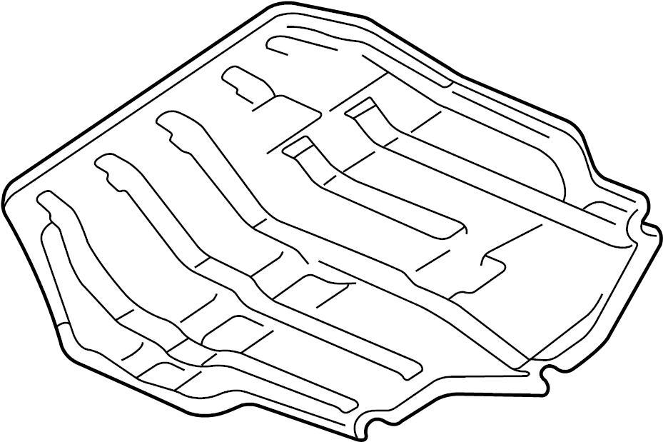 Volkswagen Jetta Sound absorber. 1.9 LITER. 2.0 LITER. 2.8