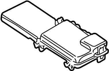 Volkswagen Jetta Wagon Fuse Box Cover. ELECTRICAL