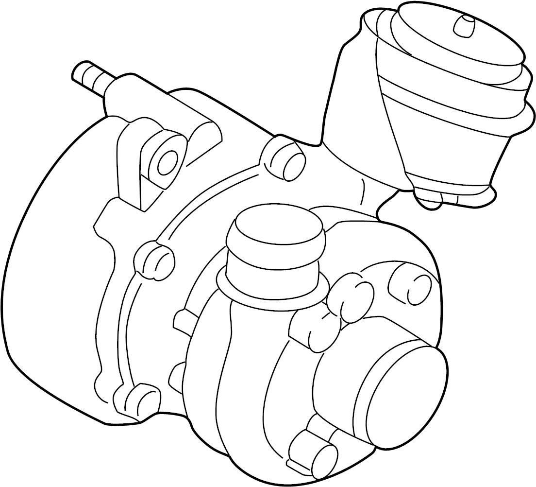 Volkswagen Jetta Exhaust Manifold Wexhaust Turbocharger