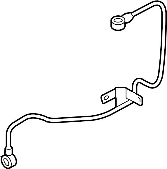 Volkswagen Eos Turbocharger Oil Line. LITER, Feed, ENGINE