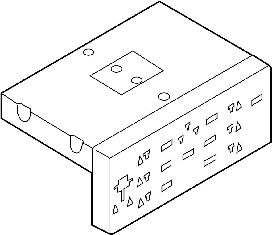 Volkswagen R32 Body Control Module. GATEWAY. PASSENGER