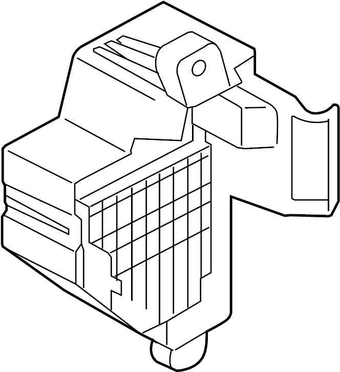 Volkswagen Passat Fuse Box. COMPARTMENT, PASSENGER, WAGON