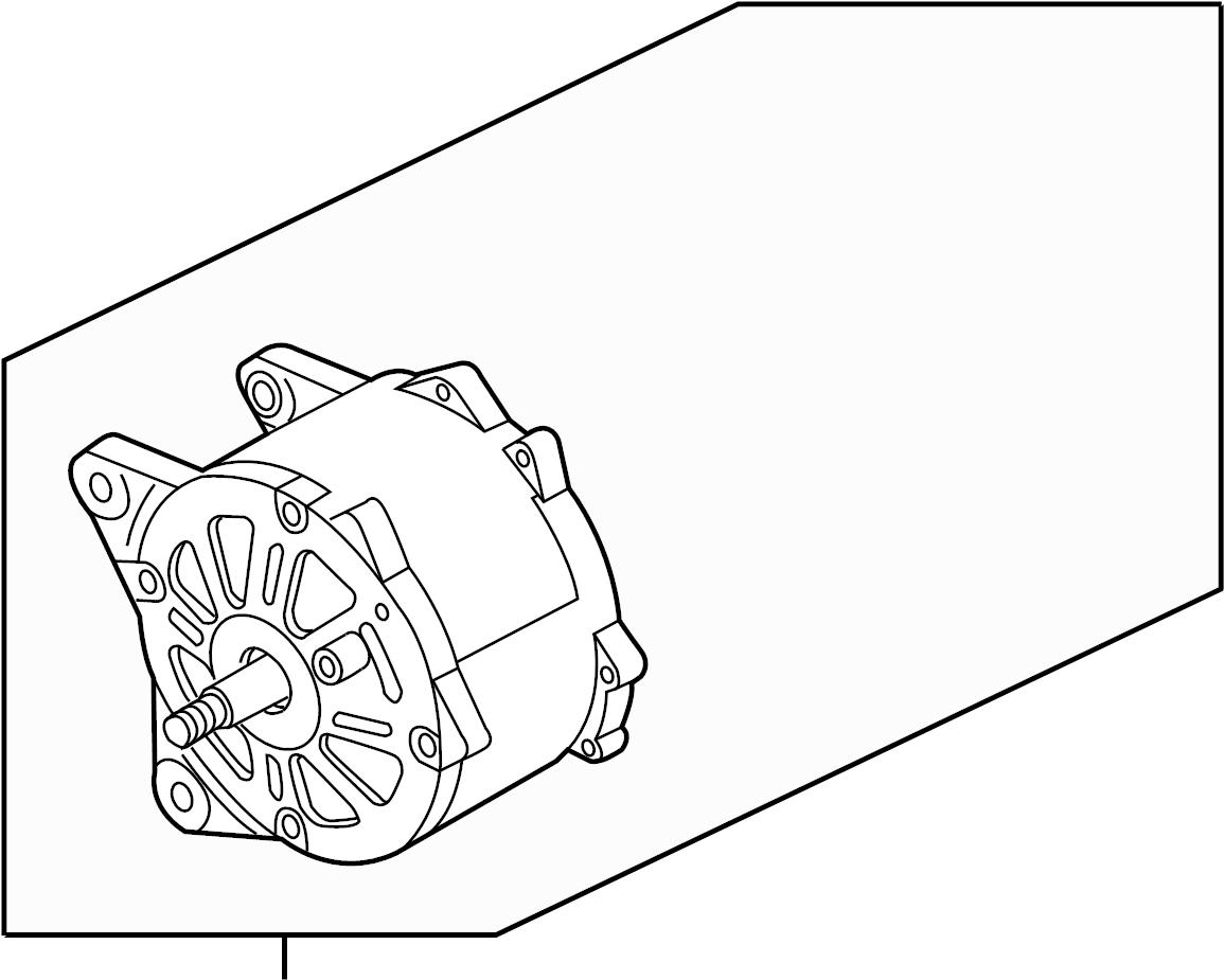 Volkswagen Eos Alternator. Remanufactured, Liter, Bosch