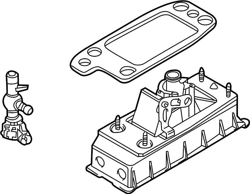 Volkswagen Passat Manual Transmission Shift Lever. Shifter