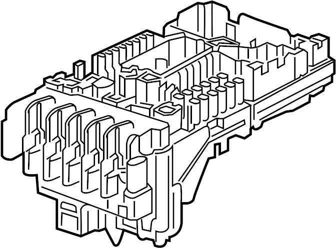 Volkswagen Tiguan Fuse and Relay Center. EMGINE