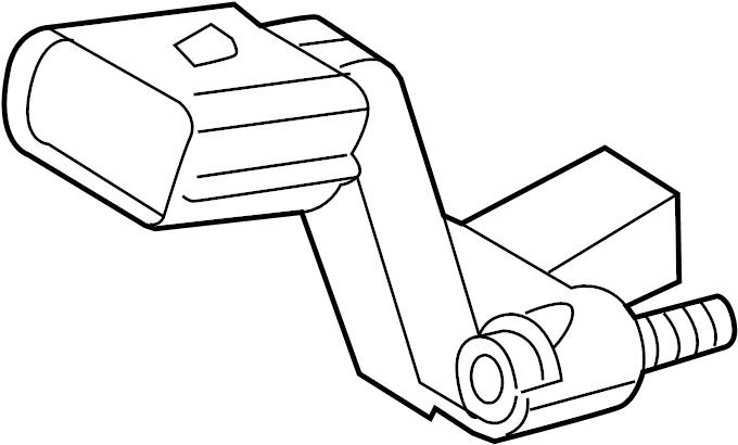 Volkswagen Golf Engine Crankshaft Position Sensor. LITER