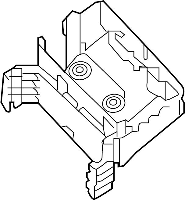 Volkswagen Jetta GLI Bracket. Fuse. Relay. And Center. Box